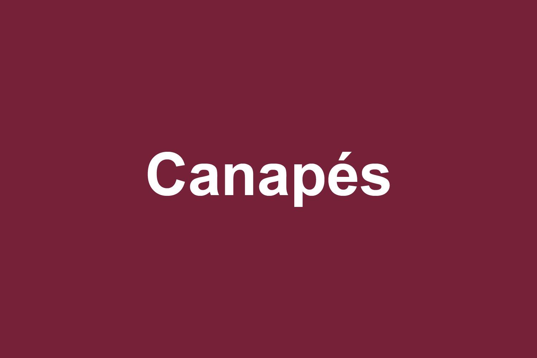 PIOTROWSKI Canapés