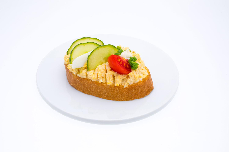 Weißbrot mit Ei